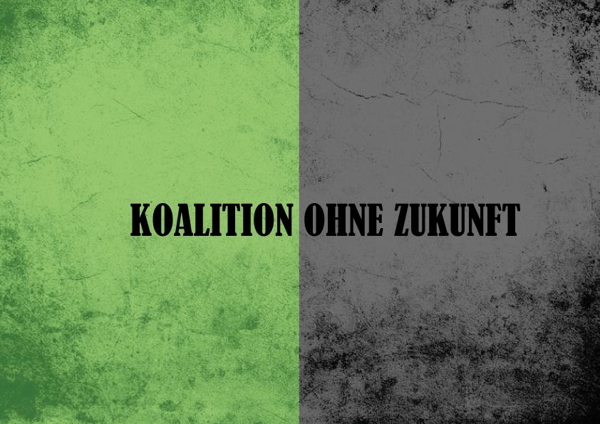 Koalition ohne Zukunft